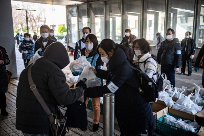 Japonia în sărăcie